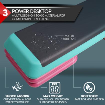Premium Aerobic Stepboard