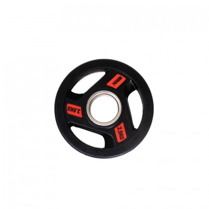 XCORE Premium Olympic Tri-Grip Rubberised Weight Plate 2.5kg